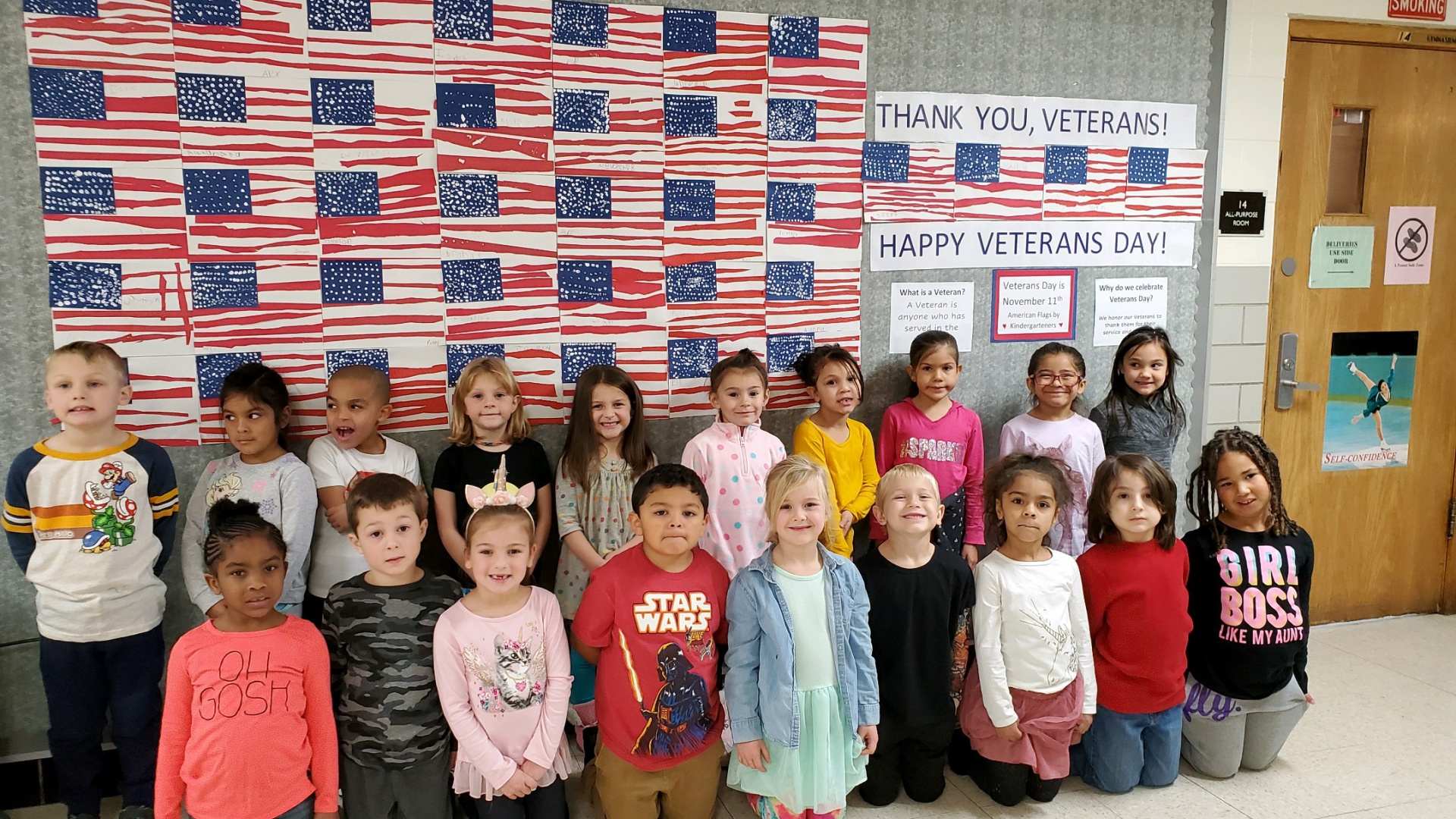 Students Honor Veteran's Day